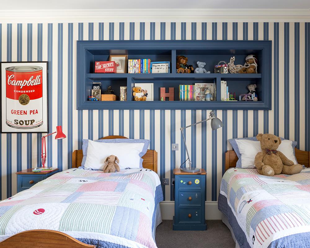 Childrens bedroom wallpaper ideas