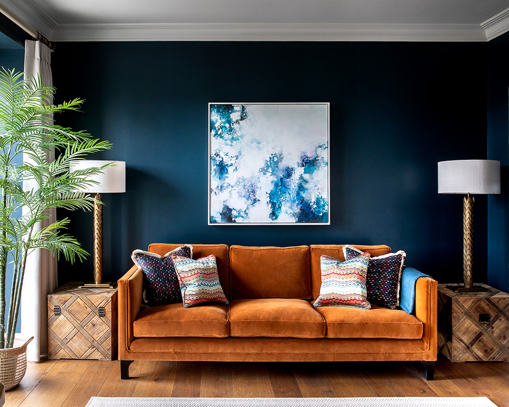 17 unique ways to use paint in a living room