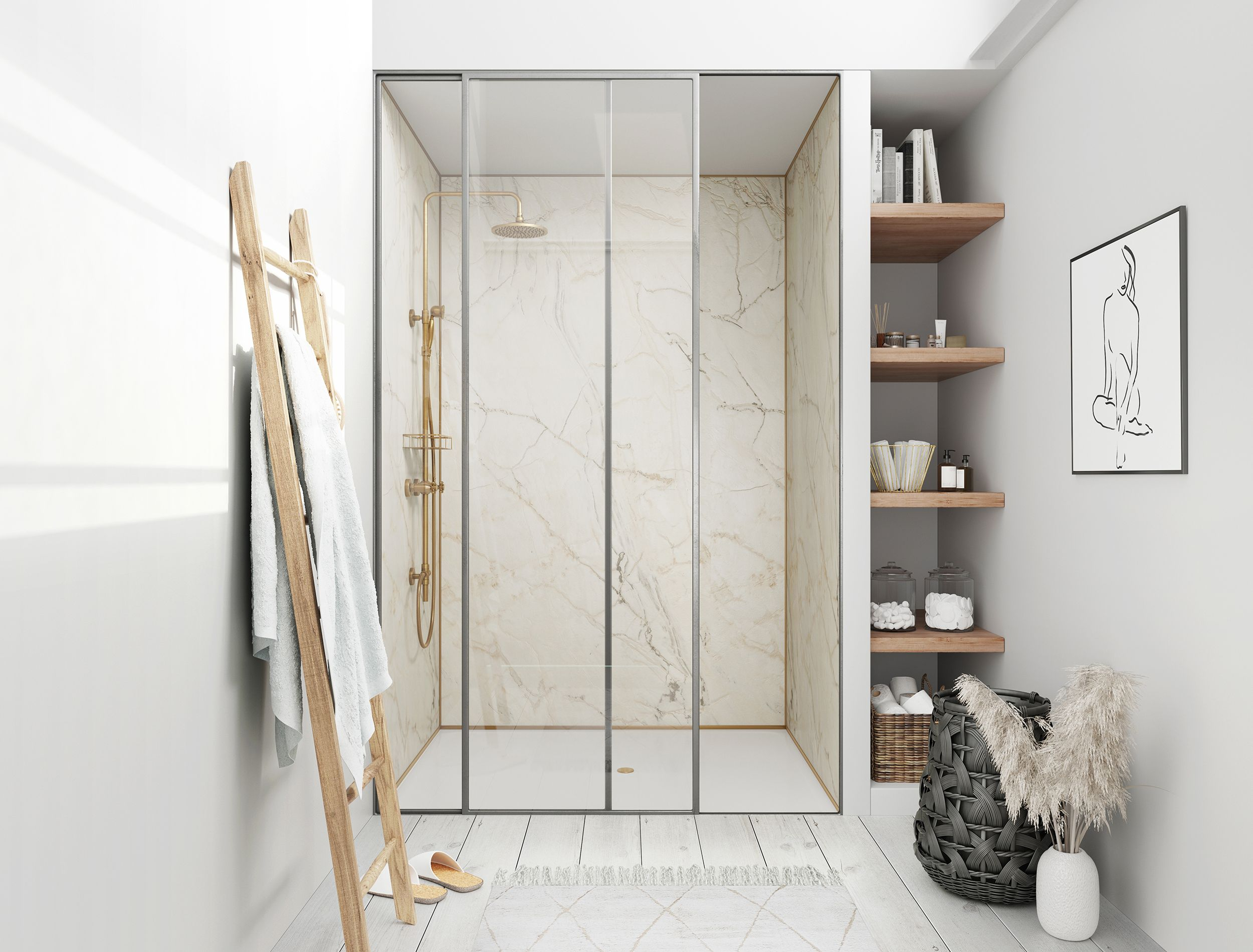Shower room ideas. Showerwall