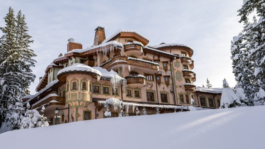 Christmas holidays - les airelles hotel, france