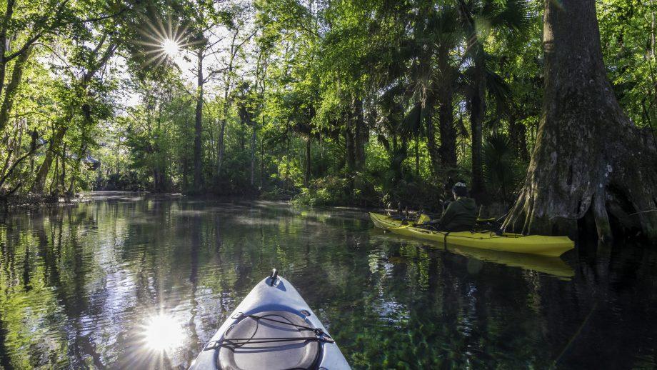 Kayaking in Orlando, Florida