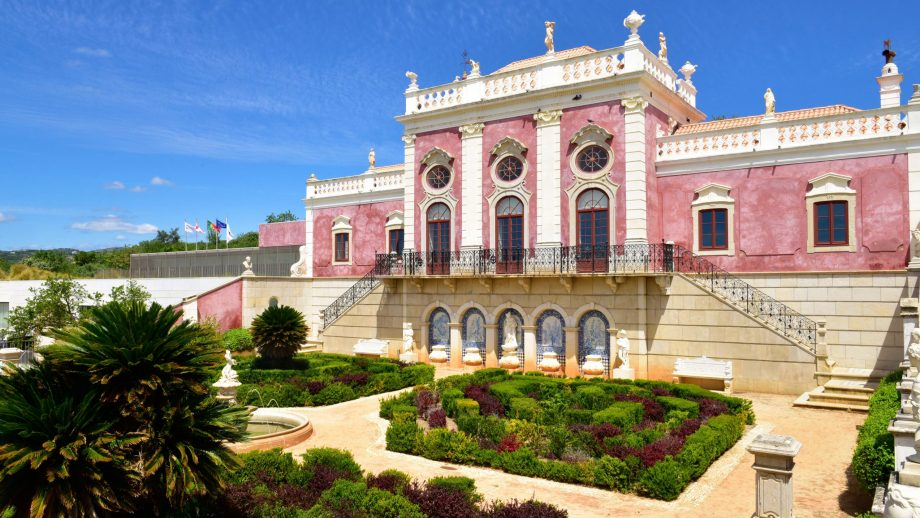 Palace hotel Pousada Palacio de Estoi, Portugal
