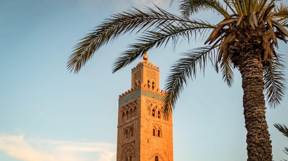 Koutoubia Minaret Mosque, Marrakech