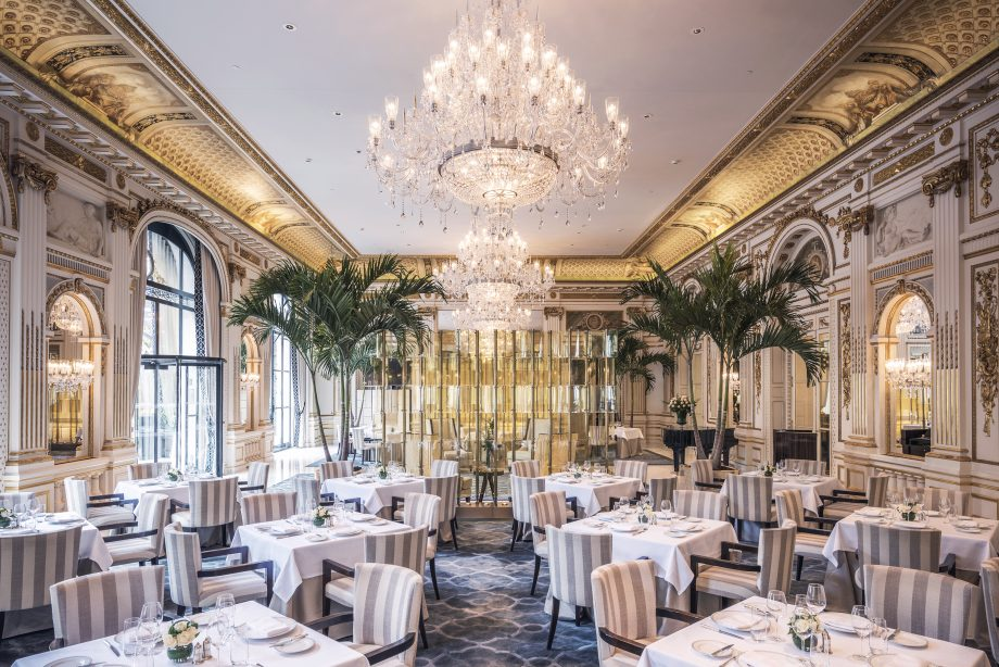 World's most expensive hotels - Le Lobby Restaurant, The Peninsula Paris