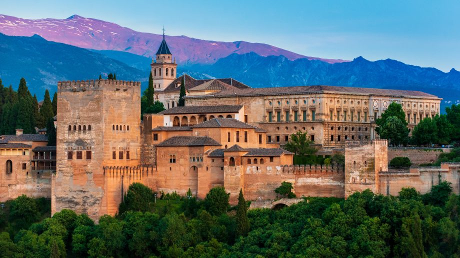 Best places to visit in Europe - Alhambra Palace, Granada, Spain