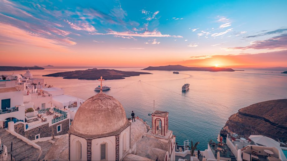 Best places to visit in June - Santorini, Greece