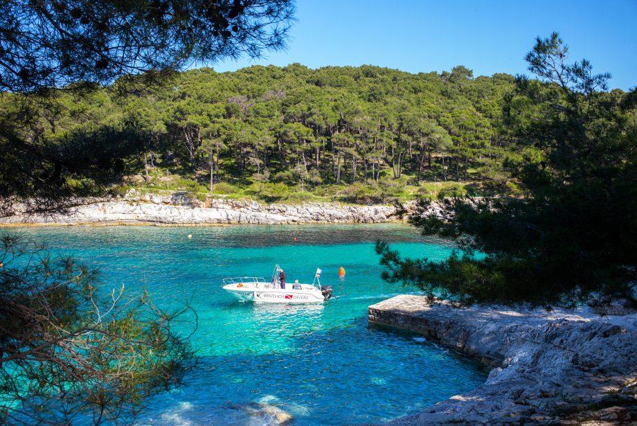 Cikat Bay, Lošinj. Croatia