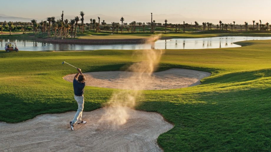 Golf Course at Fairmont Royal Palm Marrakech, Morocco