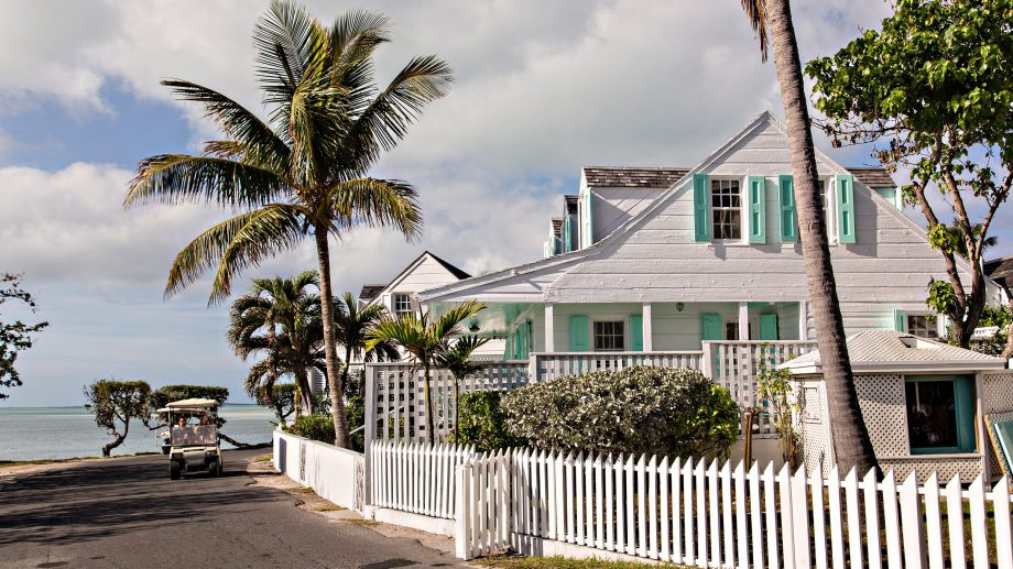 Clapboard cottage on Harbour Island, The Bahamas