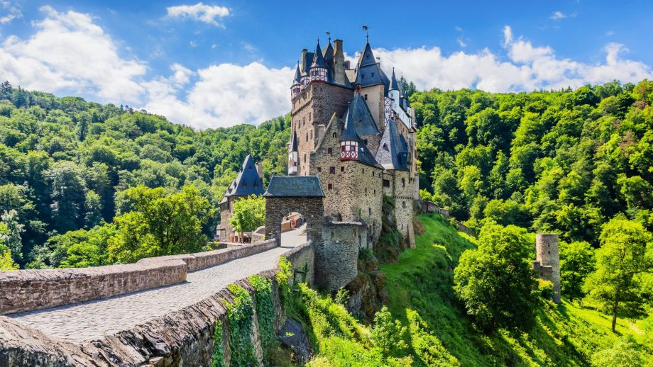 Real-life Disney castle Burg Eltz in Germany