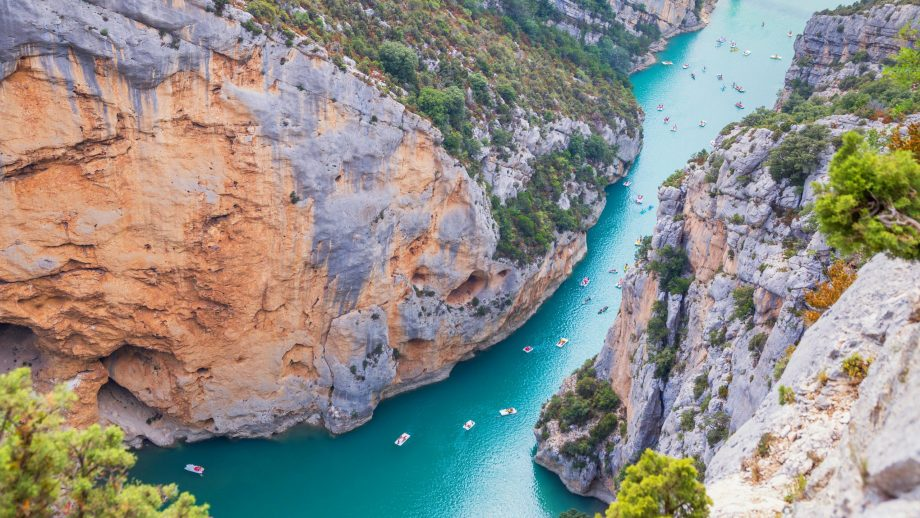 Gorges du Verdon, France - no-fly holiday