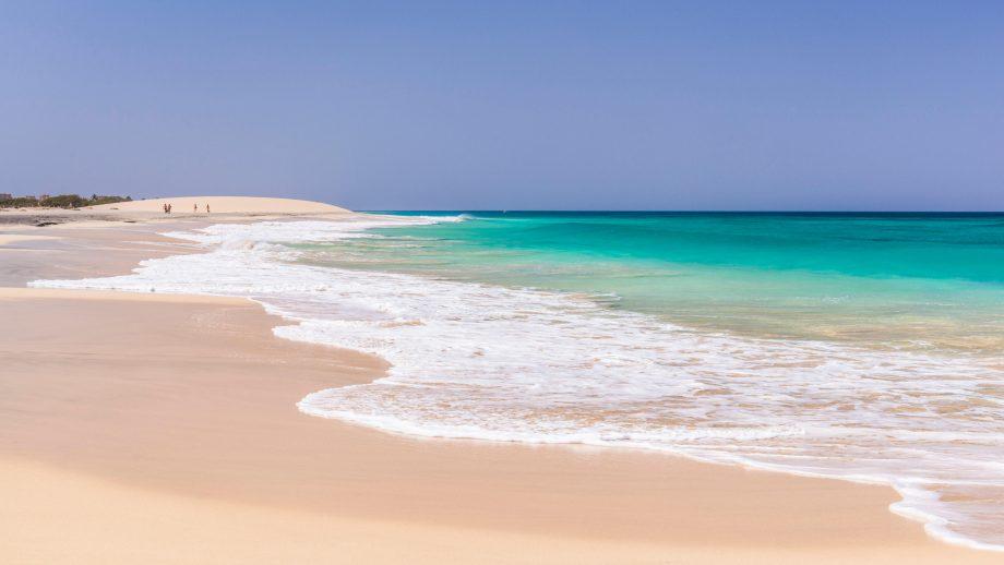 Ponta Preta beach on Sal Island, Cape Verde