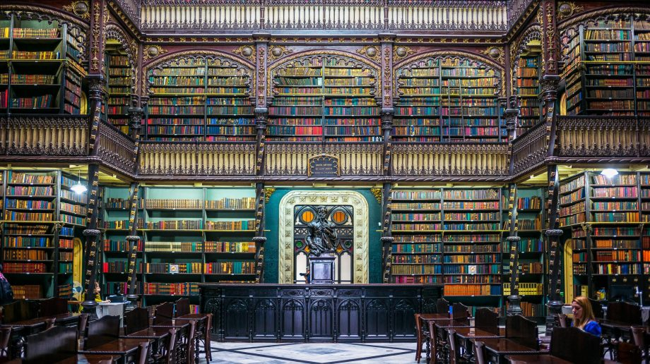 Real Gabinete Portuguese library, Rio de Janeiro, Brazil