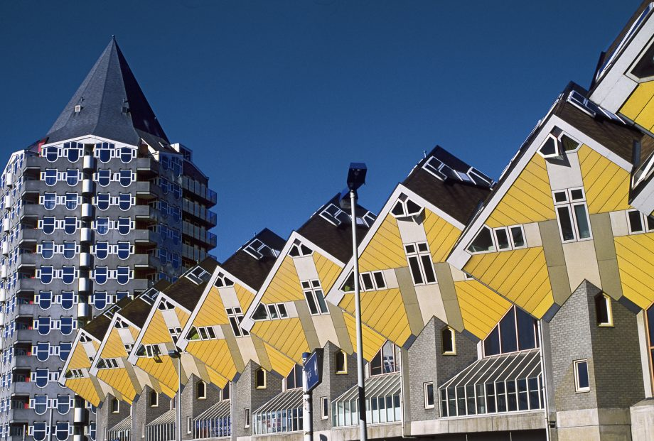 The Cube Houses in Rotterdam, Holland